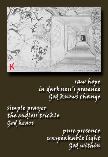 hope, prayer, presence