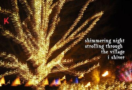 shimmering night